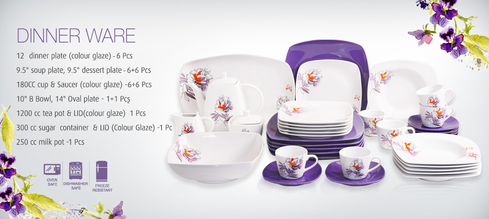 procelain dinner set in dubai